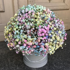 "Flower box ""Cotton candy"""