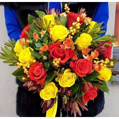 Bouquet Sunny greetings
